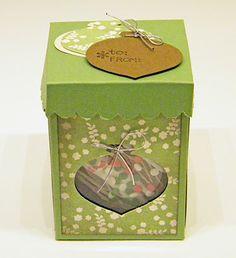 My little craft blog: Ornament Treat Box