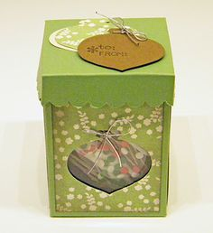 My little craft blog: Ornament Treat Box