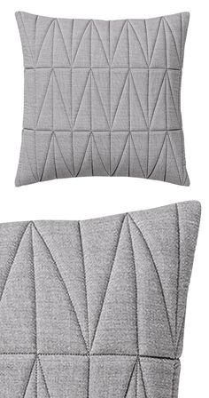 The romantic essence of chambray and felt offer a vintage-inspired attitude, making this Emeline Quilted Pillow an exceptional addition to your traditional bedding. Its chic gray hue adds a classy and ...  Find the Emeline Quilted Pillow, as seen in the Throw Pillows Collection at http://dotandbo.com/category/decor-and-pillows/pillows/throw-pillows?utm_source=pinterest&utm_medium=organic&db_sku=118805