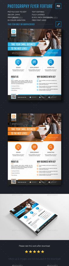 Corporate Flyer Template PSD. Download here: http://graphicriver.net/item/corporate-flyer/15862385?ref=ksioks