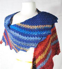 Snowdrop Shawl By Anastacia Zittel - Free Crochet Pattern - (ravelry)