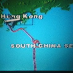 Pilot was a lite lost today #singaporeairlines #hongkong
