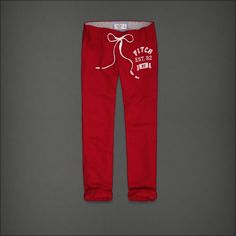 A Classic Banded Crop Sweatpants. Abercrombie & Fitch.