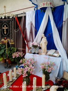 Altar conmemorativo. Corpus Christi 2014. Alcantarilla. Murcia. España. Cofradía Stmo. Cristo de la Buena Muerte.