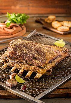 Churrasco de costela por Academia da carne Friboi