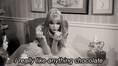 That is probably just filled with sweets and grandma candy. | 22 Signs Taylor Swift Is Actually 82