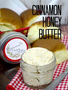Cinnamon Honey Butter Recipe and Printable! - Pink Cake Plate