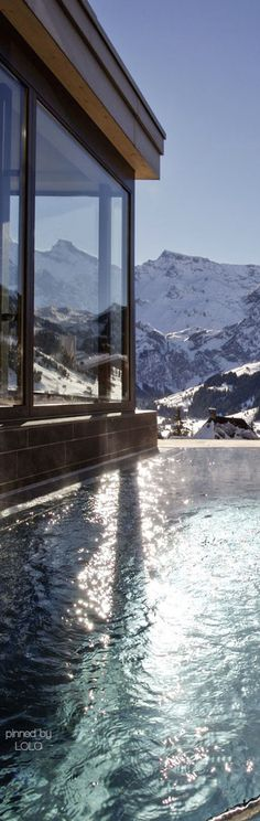 THE CAMBRIAN HOTEL ADELBODEN  SWISS ALPS   LOLO