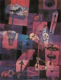 Paul Klee - Perversitaten, 1922