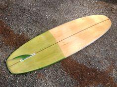 7'0 single in Port orford cedar Tilleysurfboards