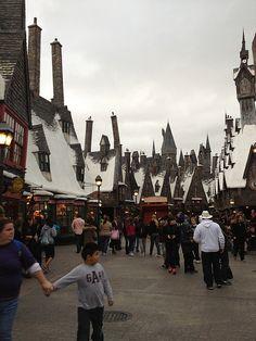 The Wizarding World of Harry Potter at Island of Adventure, Orlando Florida