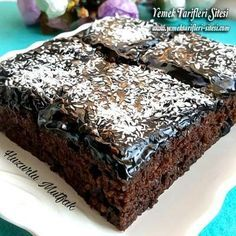Moist Cake recipe with a whole lot of sauce - kekler sting recipes Chocolate Desserts, Chocolate Cake, Mousse Au Chocolat Torte, Pasta Cake, Pudding Cake, Moist Cakes, Food Cakes, Cake Recipes, Food And Drink