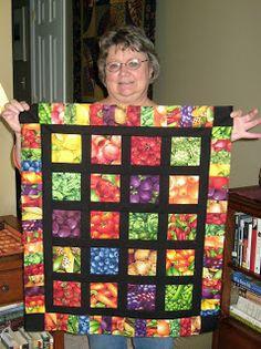Vegetable & Fruit Quilt