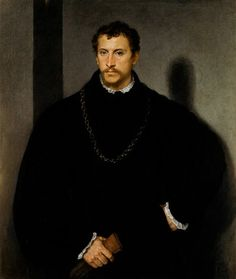 Portrait of a Young Man. 1545. Titian. Italian. 1490-1576. oil on canvas