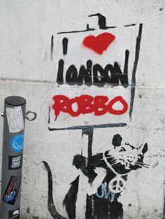 Banksy / Robbo #streetart