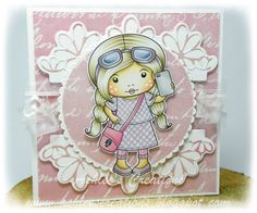 La-La Land Crafts Inspiration and Tutorial Blog: For a Special Lady