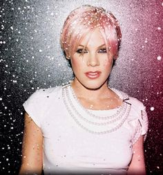 I love P!nk, because the way she dresses, acts, does her hair, and sings isn't just a shout for attention.
