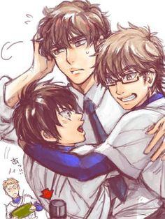 Sawamura eijun , chris yuu takigawa and miyuki kazuya Otaku Anime, Manga Anime, Miyuki Kazuya, Hot Anime Boy, Anime Life, Manga Characters, Kuroko, Baseball, Haikyuu