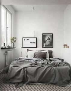 cool 50 Mind-Blowing Minimalist Bedroom Color Inspiration https://homedecort.com/2017/06/50-mind-blowing-minimalist-bedroom-color-inspiration/