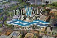Atlantic City, NJ.  The Walk.... Great outlet shopping...