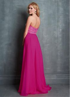 Terrific Sweetheart A-line Floor-length Train Red Tone Special Occasion Dresses