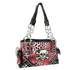 Gorgeous skull bag