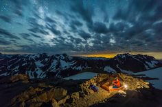 As an initial note, to spend an overnight at Sahale Glacier Camp, you need to…