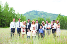 Donny and Debbie Osmond have five sons and eight grandchildren (with only one granddaughter). All five sons graduated from Timpview High School, and Donny has served as a Young Men leader in their LDS ward during much of their growing up years.