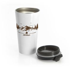 Say goodbye to plastic Our travel mugs are made of stainless steel and will keep drinks at the right temperature for hours on the go. Plastic Mugs, North Miami Beach, Go Outdoors, Outdoor Brands, Enjoy Your Life, Travel Mugs, Surfing, Stainless Steel, Drinks