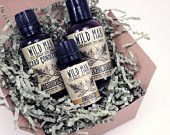Stocking stuffer: Man Gift Set Beard Conditioner Wash Cream Wild Man Gift Basket Box