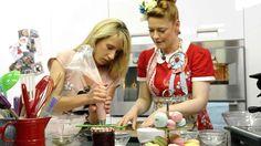 Macarons - Eni backt Macarons, Sweet & Easy, Food, Bakken, Raspberries, Foods, Essen, Macaroons, Meals