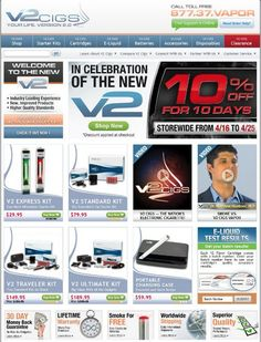 The most important features of Cigs is its ability to recharge for at least six . V2 Cigs, New Starter, Electronic Cigarette, Coupon Codes, Vape, Coupons, At Least, Coding, Shopping