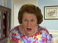 The Keeping Up Appearances: Hyacinth in one of her looks