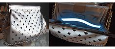 An automatic light inside your purse! GENIOUS!!   Glass-Handbags-light-technology