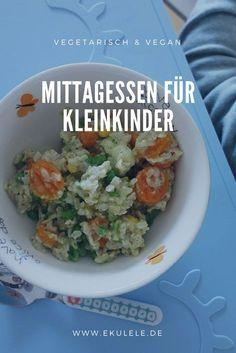 Vegetarisches Mittagessen für Kleinkinder. Rezepte, die jedem Kind schmecken.