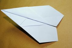 How to Make a Paper Airplane That Does Loop De Loops -- via wikiHow.com