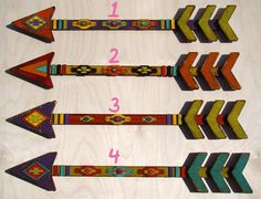 Rustic Wooden Arrow  Vintage Arrow  by TheGlitteredPig on Etsy