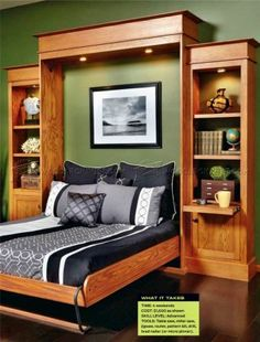 Build Murphy Bed - Furniture Plans