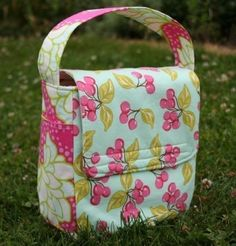 Love your Lunch Box Bag PDF Pattern Cute Fresh Eco por ginia18