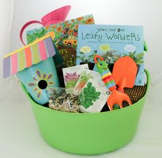 Gardening Gift Basket Ideas garden gift baskets Little Sprouts Gift Basker