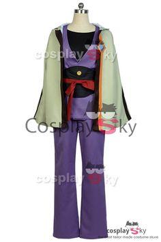 #Cosplaysky Kōtetsujō no Kabaneri Ikoma Kimono Uniforme Cosplay Disfraz_1
