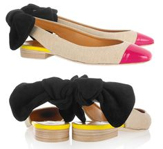 Carven Bow Flats