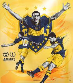 Boca Juniors 2007 - Morriz #design #illustration #soccer #design #bocaJuniors