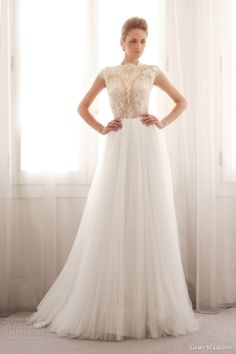 http://weddinginspirasi.com/2014/03/14/gemy-maalouf-bridal-2014-wedding-dresses/ Gemy Maalouf #Bridal 2014 #Wedding Dresses #weddings #weddingdress