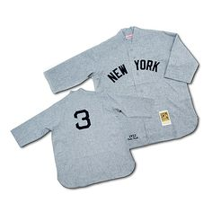 New York Yankees Authentic 1932 Babe Ruth Road Jersey by Mitchell & Ness - MLB.com Shop