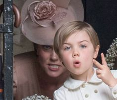 Page boy gets told off by Kate Middleton at Pippa's wedding