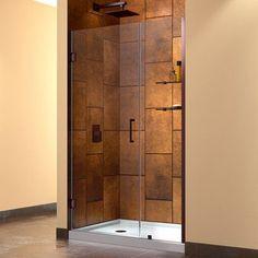 Unique DreamLine UniDoor x Pivot Frameless Hinged Shower Door Trim