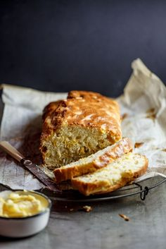 Cheesy corn bread | simply-delicious.co.za #foodphotography #foodstyling