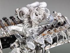 Twin-turbo BMW V8