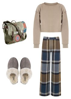 """Senza titolo #11"" by tittilove-1 on Polyvore featuring moda, My Mum Made It, Warehouse, UGG e Marvel"